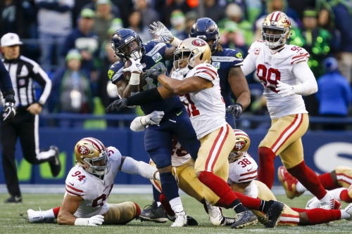 Seahawks found considerable success going left at the 49ers edge two weeks ago