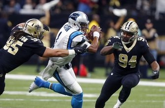 Saints' sweep of Panthers never far from QB Newton's mind