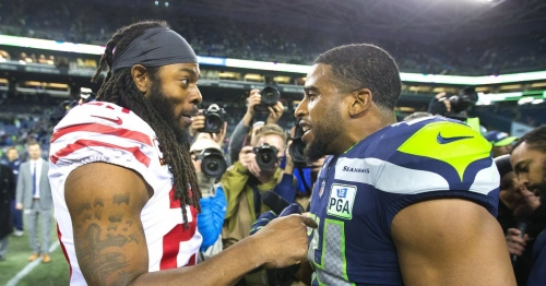 Richard Sherman on Frank Clark's comments: 'Kids say the darndest things'