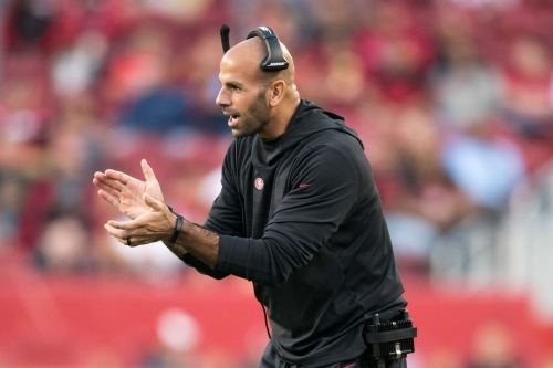 Robert Saleh talks Ahkello Witherspoon, Russell Wilson, progress in the defense,