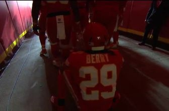 Watch Eric Berry emerge from the Chiefs tunnel and take the field at Arrowhead Stadium for the first time in 2018