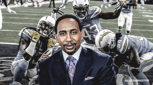 Chargers' social media team trolls Stephen A. Smith after multiple errors in analysis