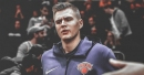 Kristaps Porzingis shows love for Ron Baker after guard's release from team
