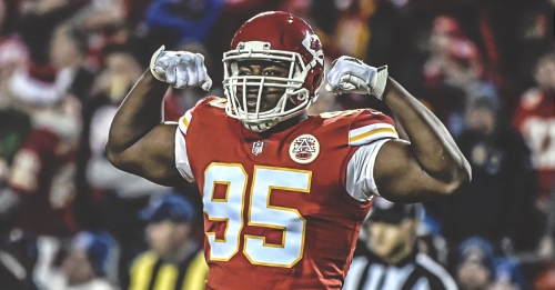 Chiefs RB Chris Jones becomes first player in NFL history to get a sack in 10 consecutive games