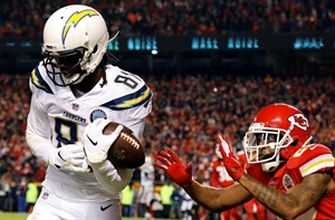 The Chargers pull off a game-winning 2-point conversion with 4 seconds on the clock to beat the Chiefs
