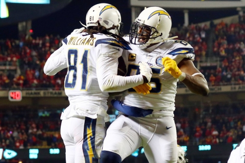 Playoff picture: Chargers stun Chiefs; how the Patriots can still get the top one seed in the AFC