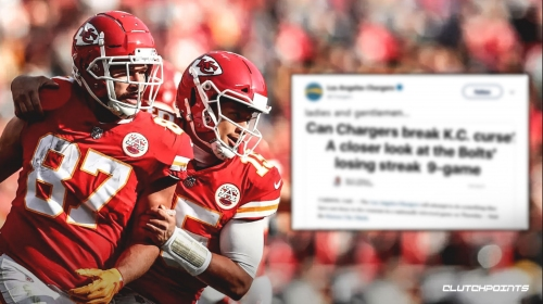 Chargers' social media team trolls Chiefs after win with hilarious video montage