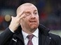 Sean Dyche: Pressure is off Burnley against Arsenal and Tottenham