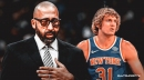 Knicks coach David Fizdale extremely emotional after cutting Ron Baker