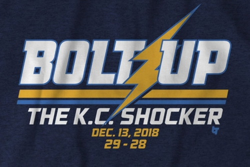 Bolt Up t-shirts now on sale