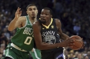 Kevin Durant played Boston Celtics' Jayson Tatum this summer, says he has MVP talent: 'He showed me some stuff'