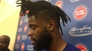 Detroit Pistons' Reggie Bullock: Sprained ankle 'is almost there'