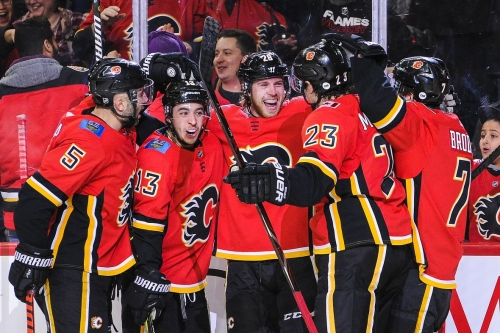 Embarrassing loss at home sparked Calgary Flames' charge to top of division