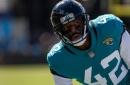 Jaguars cut safety Barry Church, activate offensive lineman Josh Wells from IR