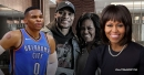 Thunder's Russell Westbrook hangs with Michelle Obama
