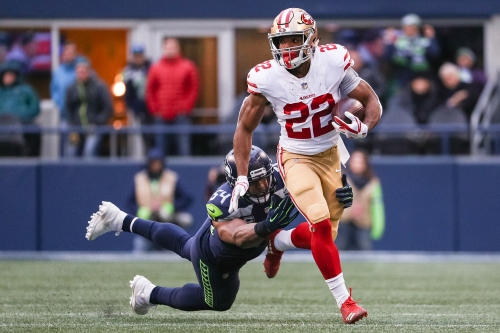 49ers Matt Breida gets 'green light' for return vs. Seahawks