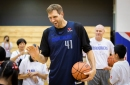 Why Dirk Nowitzki won't play a lot of minutes for the Mavs this season