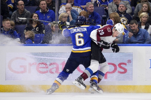 Avalanche at Blues GameDay Thread: Two in a row?