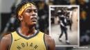 Video: Pacers' Myles Turner arrives at Sixers' homecourt wearing Dak Prescott jersey