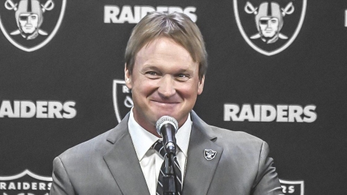 Raiders HC Jon Gruden trolls Stephen A. Smith, says getting Tim Brown ready for Week 15 is a team priority