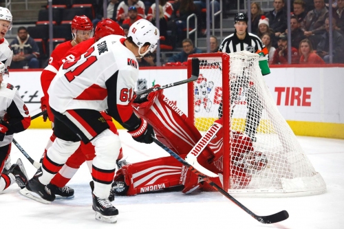 Wings Come Up Short in Comeback Against Senators, Fall 4-2