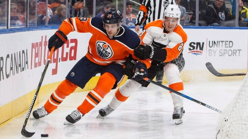 NHL Live Tracker: Flyers vs. Oilers