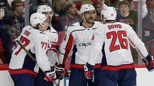 Ovechkin, Vrana lead Capitals to shootout win over Hurricanes