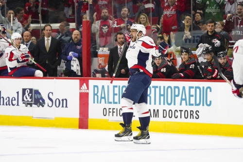 Canes collapse, blow 3-goal lead in shootout loss to Capitals