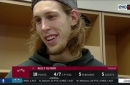 Kelly Olynyk stresses ending the road trip on the right foot
