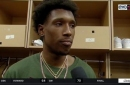 Josh Richardson praises Derrick Jones Jr. for playing great basketball