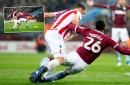 Was this a penalty? Erik Pieters protests innocence - and is angry about Aston Villa's second equaliser too