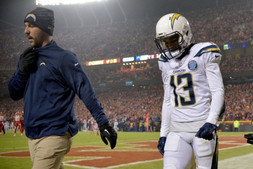 Keenan Allen could miss time with hip pointer