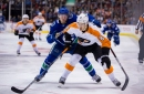 Flyers get their first look at the Elias Pettersson show in Vancouver
