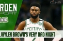 A Rough Night from Jaylen Brown Raises More Questions - The Garden Report