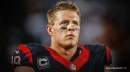 Texans star JJ Watt plays catch with New York crowd prior to Jets game