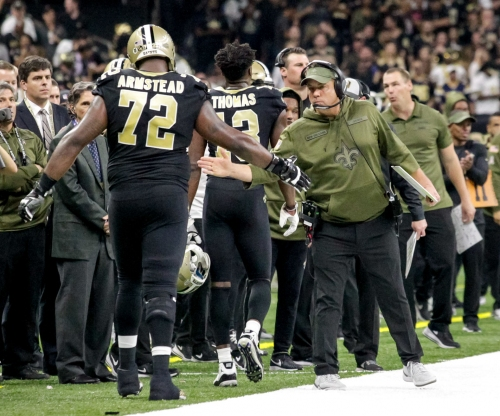 Saints rule out Terron Armstead for Monday's game against Panthers