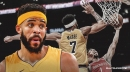 Lakers' JaVale McGee puts up solid numbers in his own version of the 'flu game'