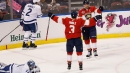 Barkov completes hat trick in OT, Panthers beat Maple Leafs
