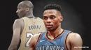 Thunder star Russell Westbrook moves past Lakers great Kobe Bryant in all-time assists list