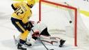 Devils tie game late but Predators prevail in shootout