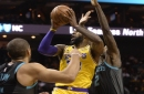 Lakers Highlights: Lonzo Ball, LeBron James Both Record Triple-Double In Blowout Win Vs. Hornets