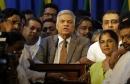 Sri Lankan president reinstates the prime minister he sacked