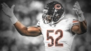 Bears video: Khalil Mack sacks Aaron Rodgers with his back