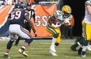 Packers tie Bears at 14 on Williams TD & Adams 2-pointer