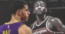 Video: Lakers guard Lonzo Ball denies John Wall with huge block