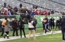 WATCH: JJ Watt plays catch with fans before Texans - Jets game