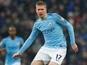 Manchester City midfielder Kevin De Bruyne felt fresh before injury struck