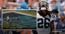 Video: Panthers cornerback Donte Jackson intercepts Saints' 2-point conversion attempt for 99-yard score