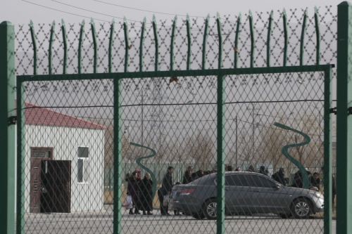 US reviews report of imports from forced labor in China camp