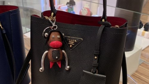 Prada withdraws luxury trinkets over blackface controversy